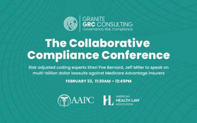 Risk adjusted coding experts Sheri Poe Bernard, Jeff Miller to speak on multi-billion dollar lawsuits against Medicare Advantage insurers